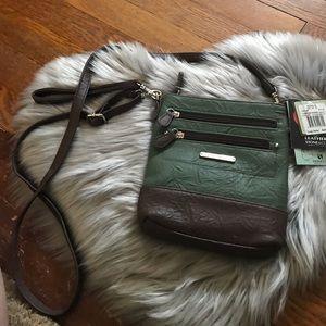 Stone & Co Leather 3 Use Crossbody Bag